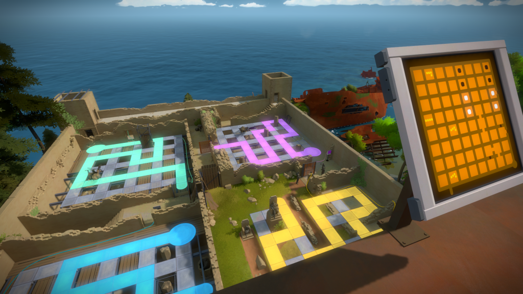 The Witness Labyrinth